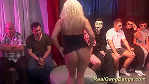 Extreme german gangbang swinger orgy...