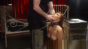 Mixed wrestling rope bondage poor jantzen she just...