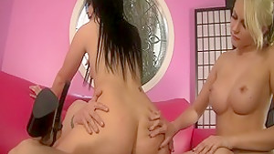 Ashli orion and katie horny threesome video...
