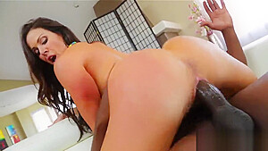 Pornstar sex kitten gets her anal nailed cock...