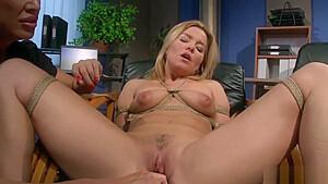 Femdom lesbians bondage hot babes...