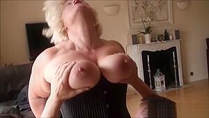 Deep throat granny butt fucked...