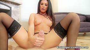 Incredible pornstars mark wood in horny pov brunette...