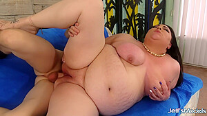 Bbw with naturals ass fucking for cum with...