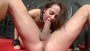 Slave addicted to brutal ass sex mating with...