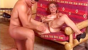 Granny mathilda in action...
