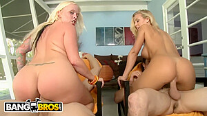 Blue eyed blondes featuring with nicole aniston and...