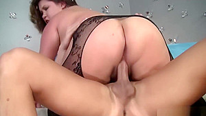 Bubbly bbw gigantic boobs ass gets fucked...