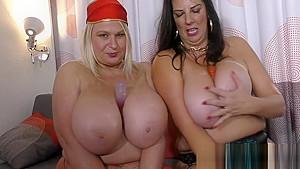 Mature lesbians lulu and sami...