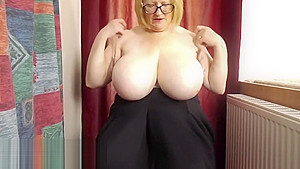 Check out grannies and seamed pantyhose...