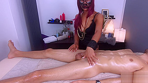 Missfluo best massage with happy ending to creampie...