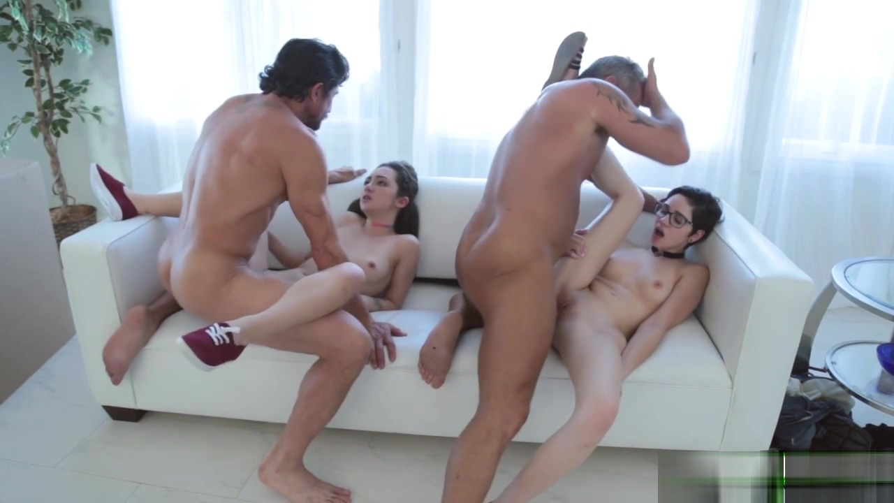 Cadey Mercury and Lily Jordan fuck doggy by magic wands