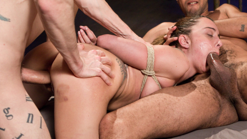 Exotic fetish xxx scene with hottest pornstars Roxanne Rae, Mickey Mod and Owen Gray from Dungeonsex
