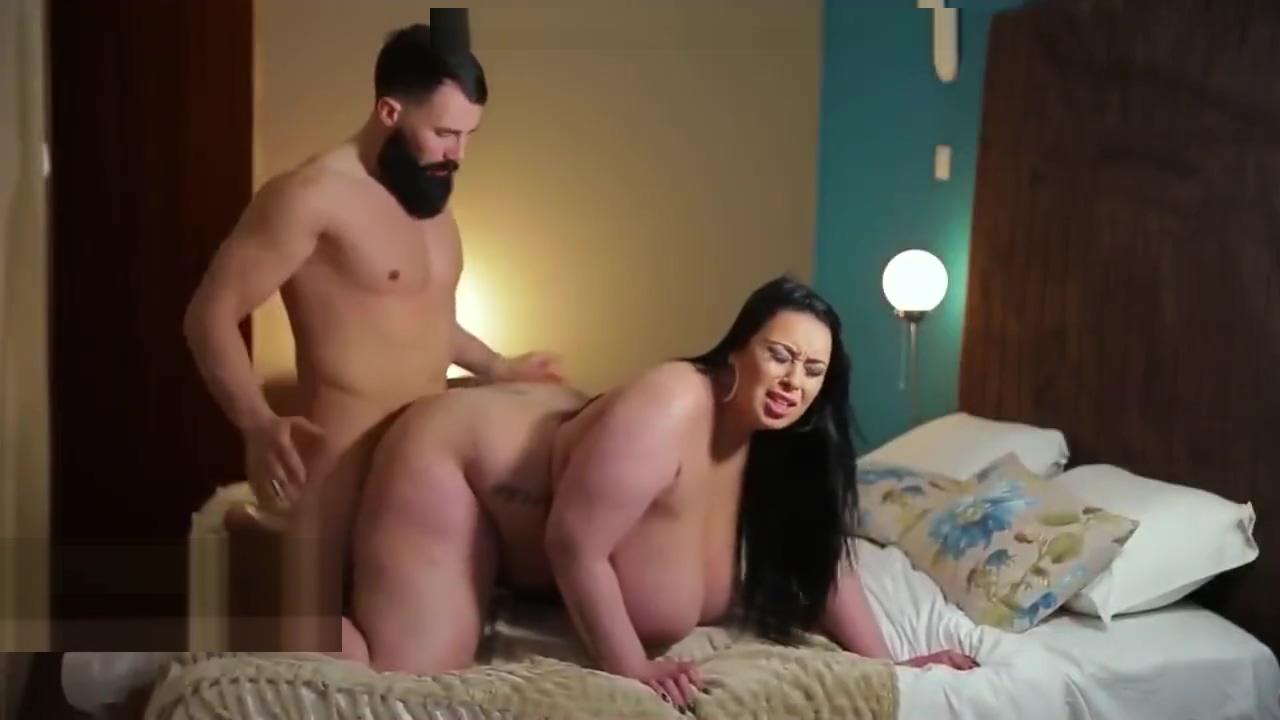 Sexy BBW Anastasia Lux & Her Hispanic Guy Shooting Together