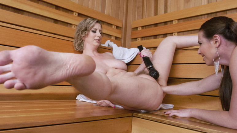 Exotic anal, lesbian porn clip with incredible pornstars Casey Calvert and Cherry Torn from Everythingbutt
