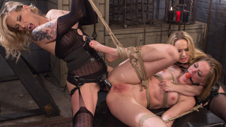 Fabulous squirting, anal xxx video with hottest pornstars Maitresse Madeline Marlowe, Aiden Starr and Mona Wales from Whippedass