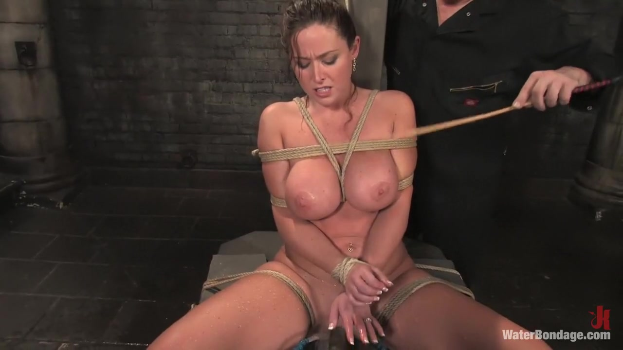 Amazing fetish adult scene with crazy pornstar Christina Carter from Waterbondage