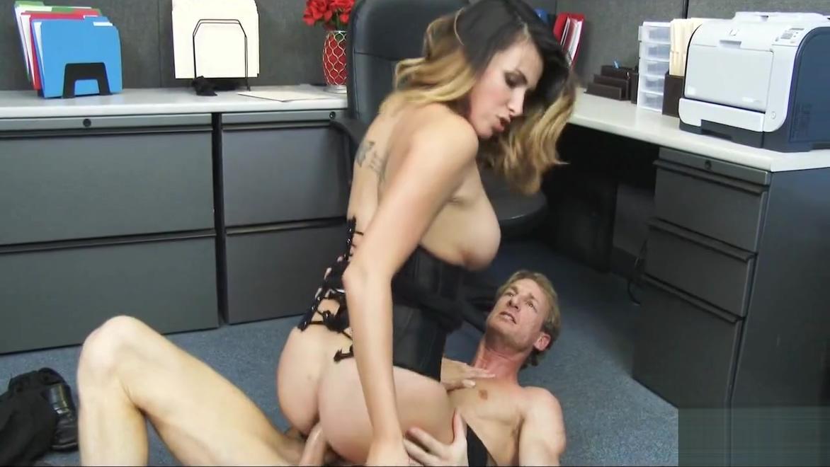 Sexy Blonde Office Anal Fuck Danica Dillon
