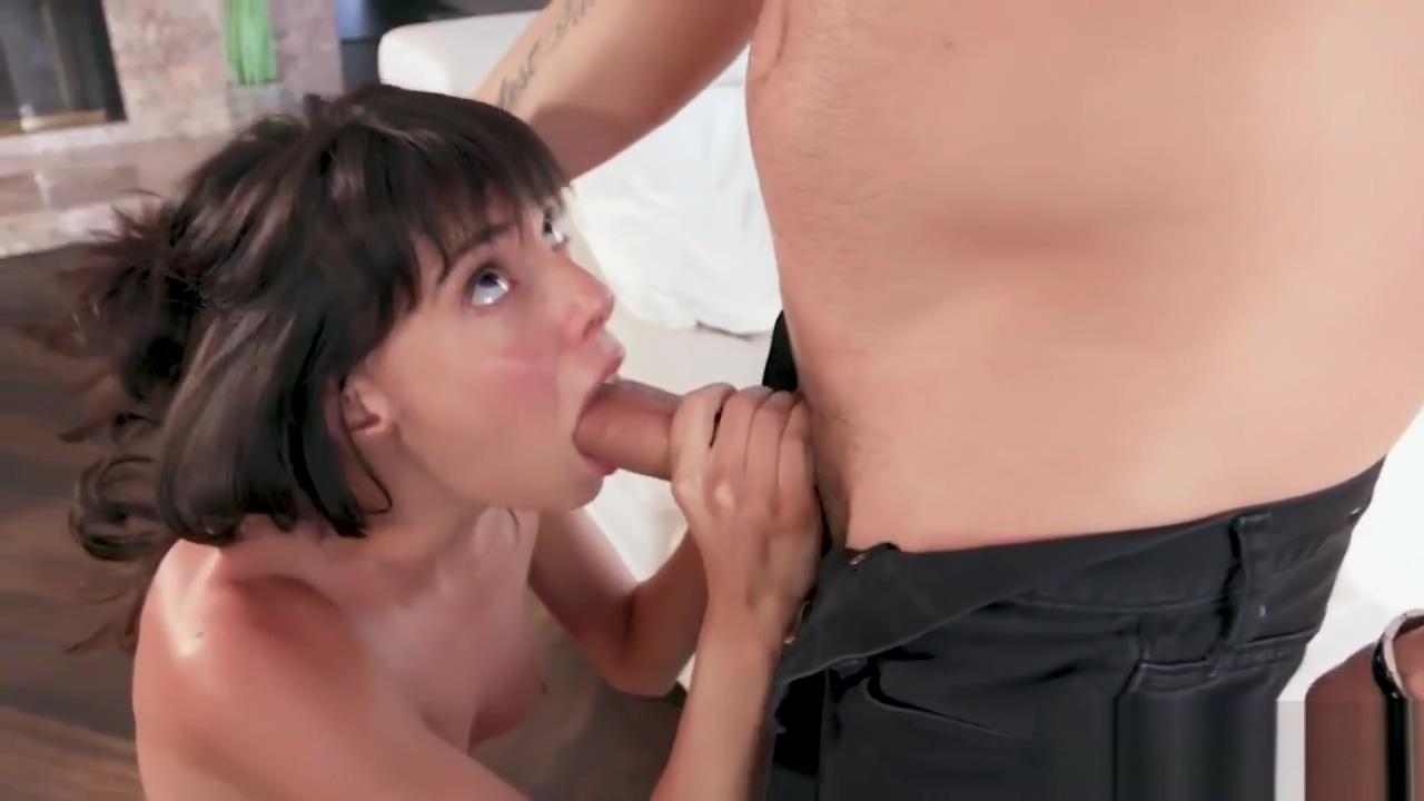 Lexi Foxy Enjoys Sucking a Big Dick