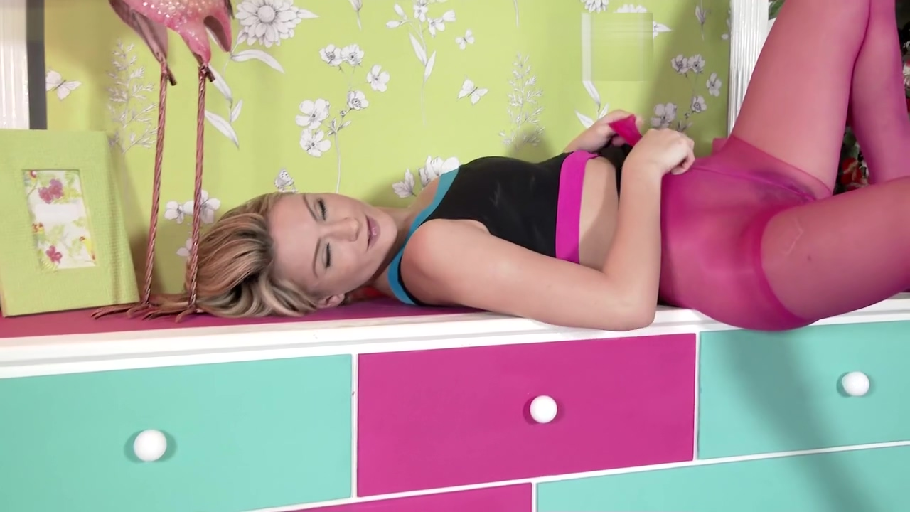 Sweet Cat Head To Toe Nylon Covered Sex Toy Solo Video