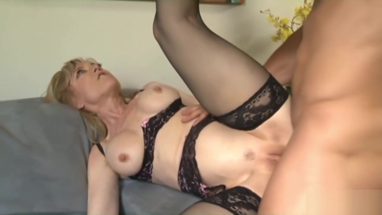 Horny Old Slut Nina Hartley Enjoys Her Son s Friend s Rock Solid Pecker Inside of Her Cunt 720p