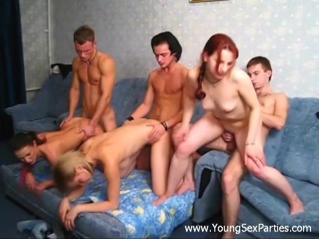 Young Fuck Parties Lisa Musa 3 Hot Teen Couples Fuck On A Sofa