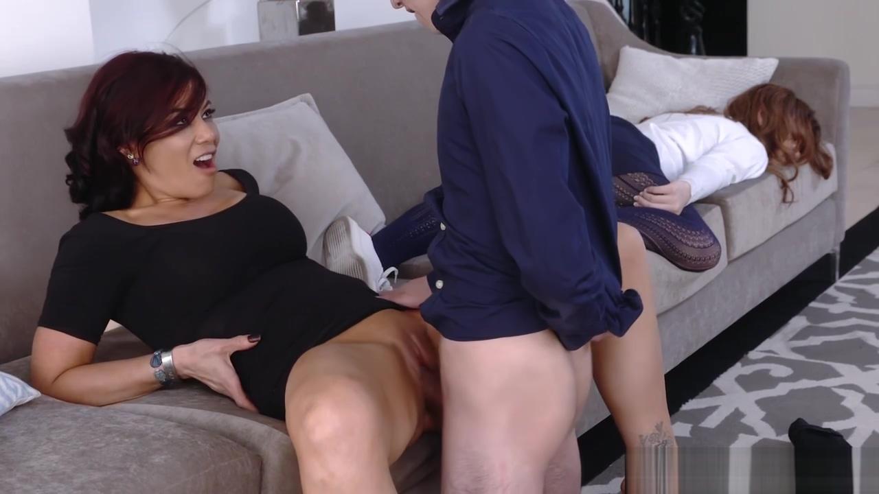 Ryder Skye Fucks Her Teen Stepson In The Kitchen