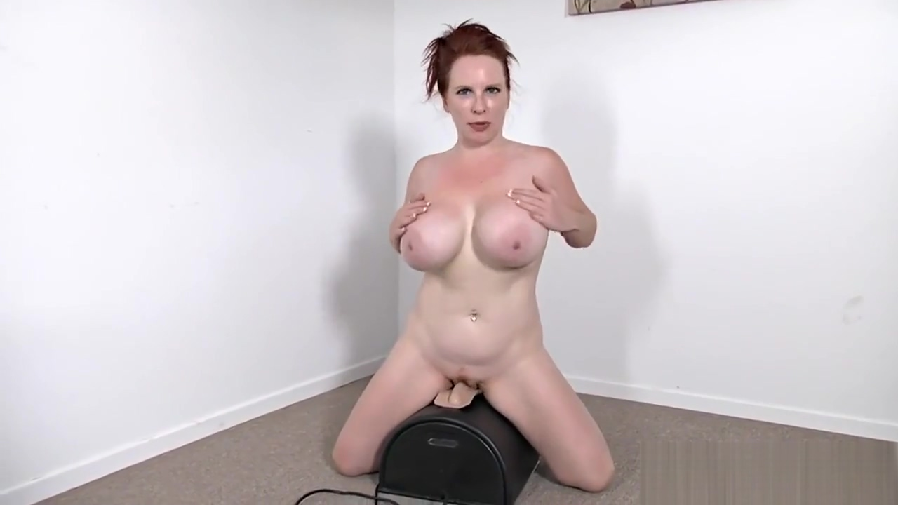 Smoking Hot Red-haired From Themilfaholicdotcom Rides Sybian