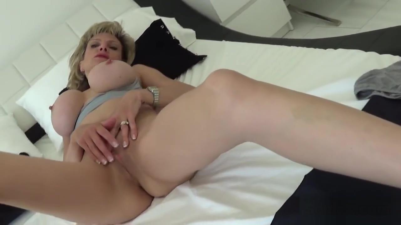 Unfaithful British Cougar Slut Sonia Showcases Her Giant Boobies