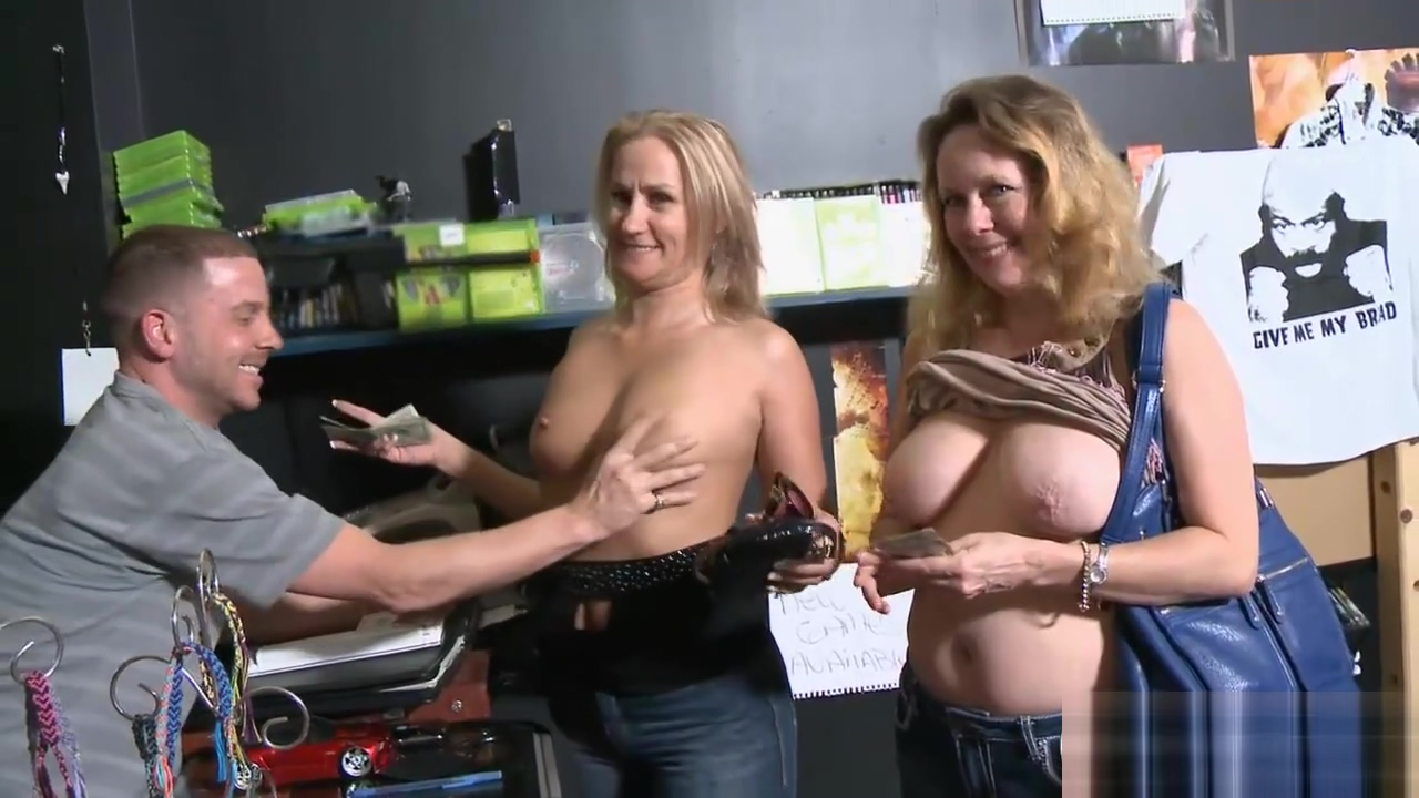 Hot Women Convinced To Flash Boobies For Some Cash Segment