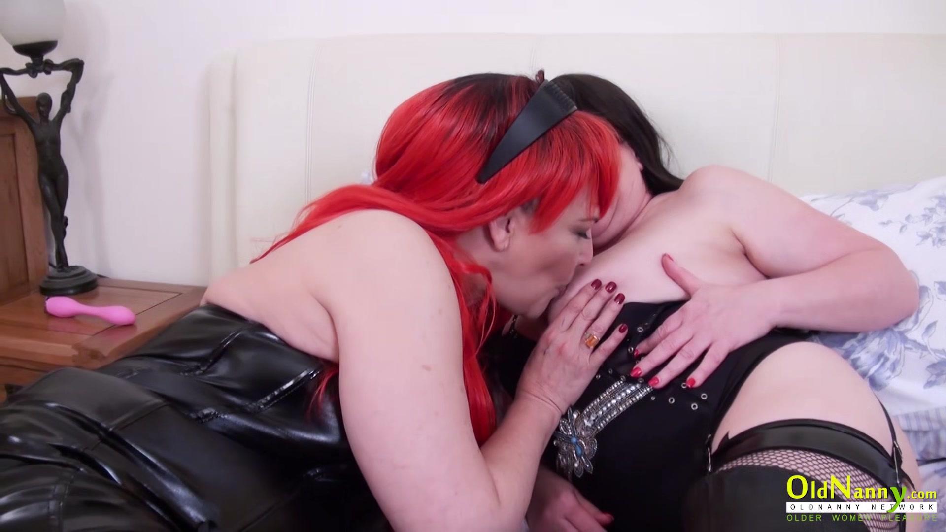 Mature Lesbians Masturbating With Toys