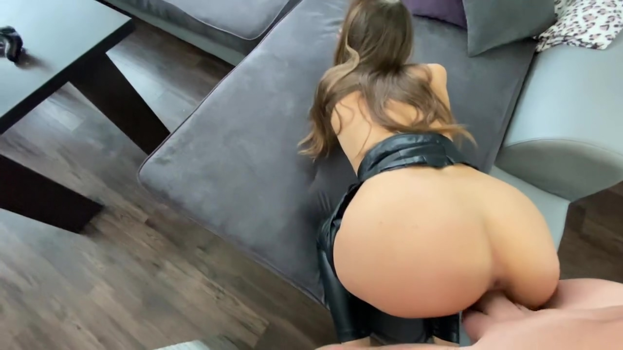 Latex Young Escort Enjoying Deep Painful Butt To Pussy Fuck