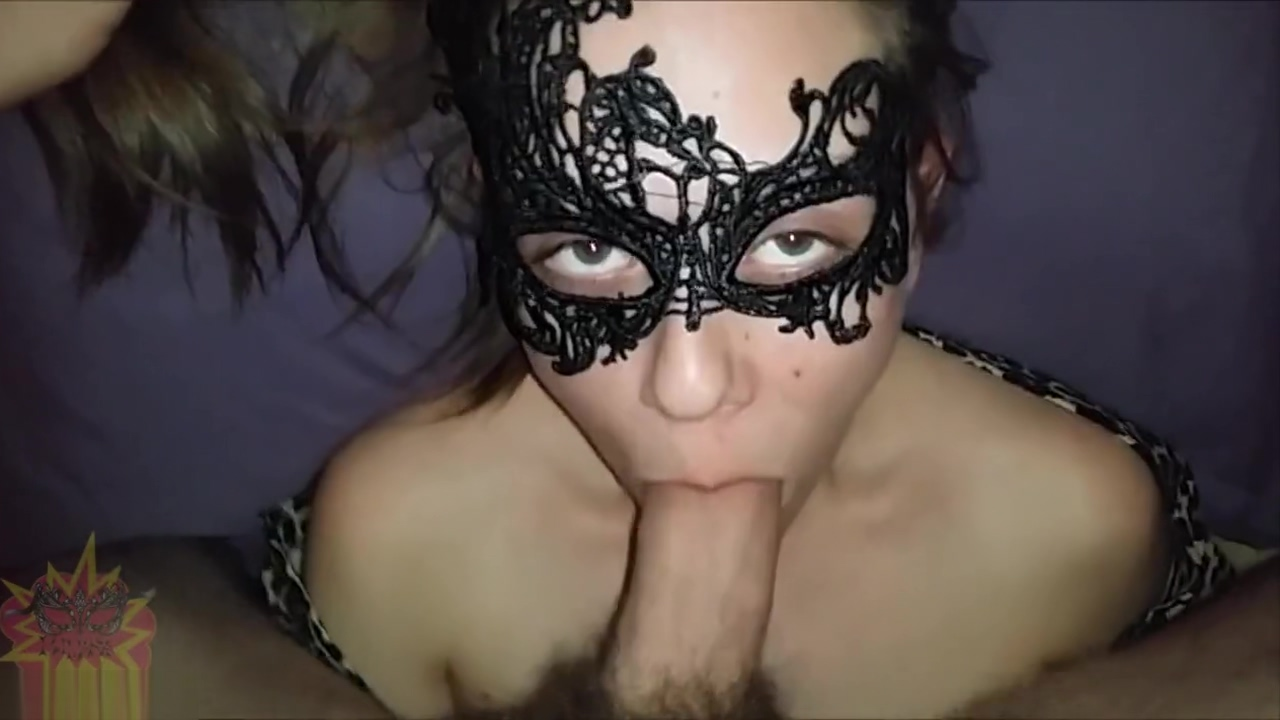 Late Night Face Fuck For Masked Teen Girl Pov
