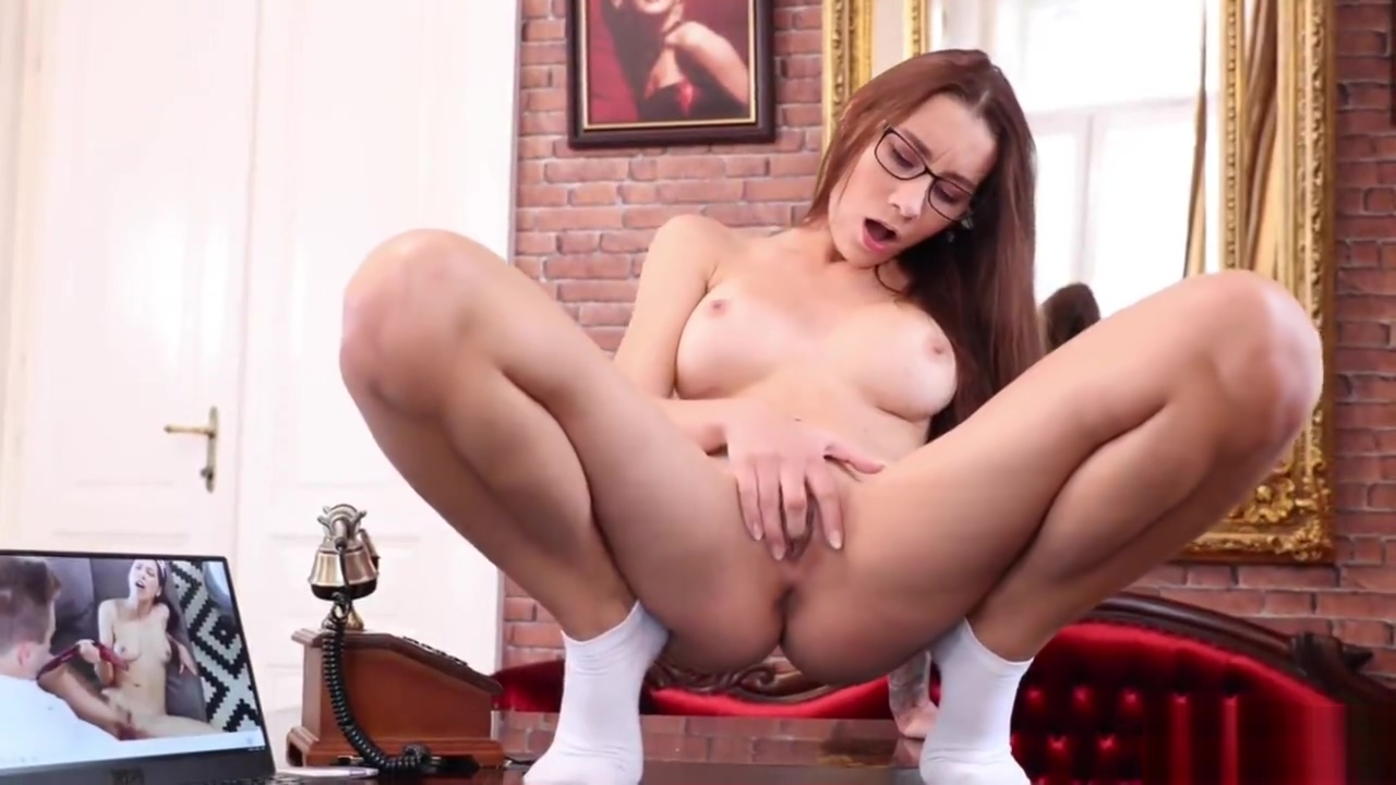 Glasses Solo At Work With Hot Babe Aika May