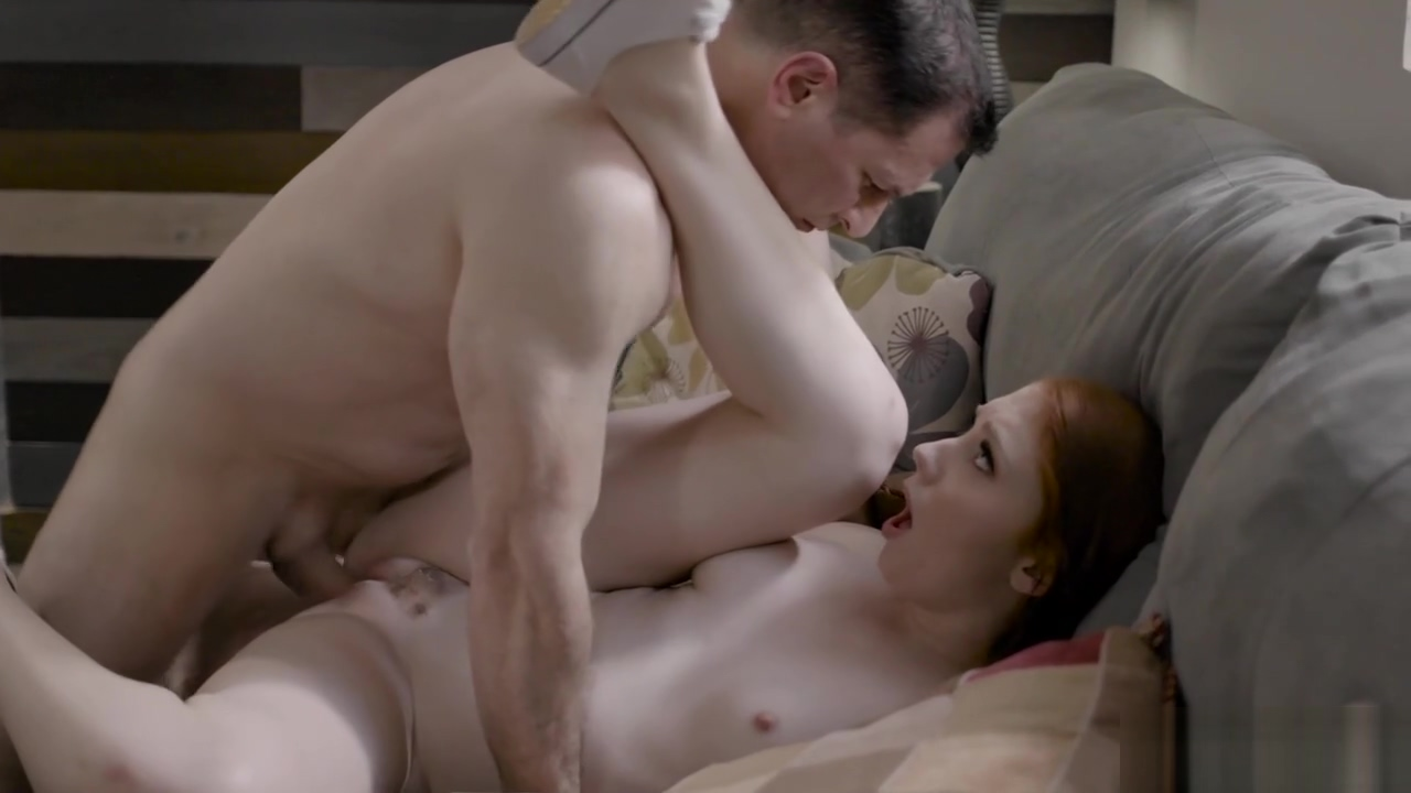 Red-haired Young Seduced By A Dirty Uncle With Huge Penis
