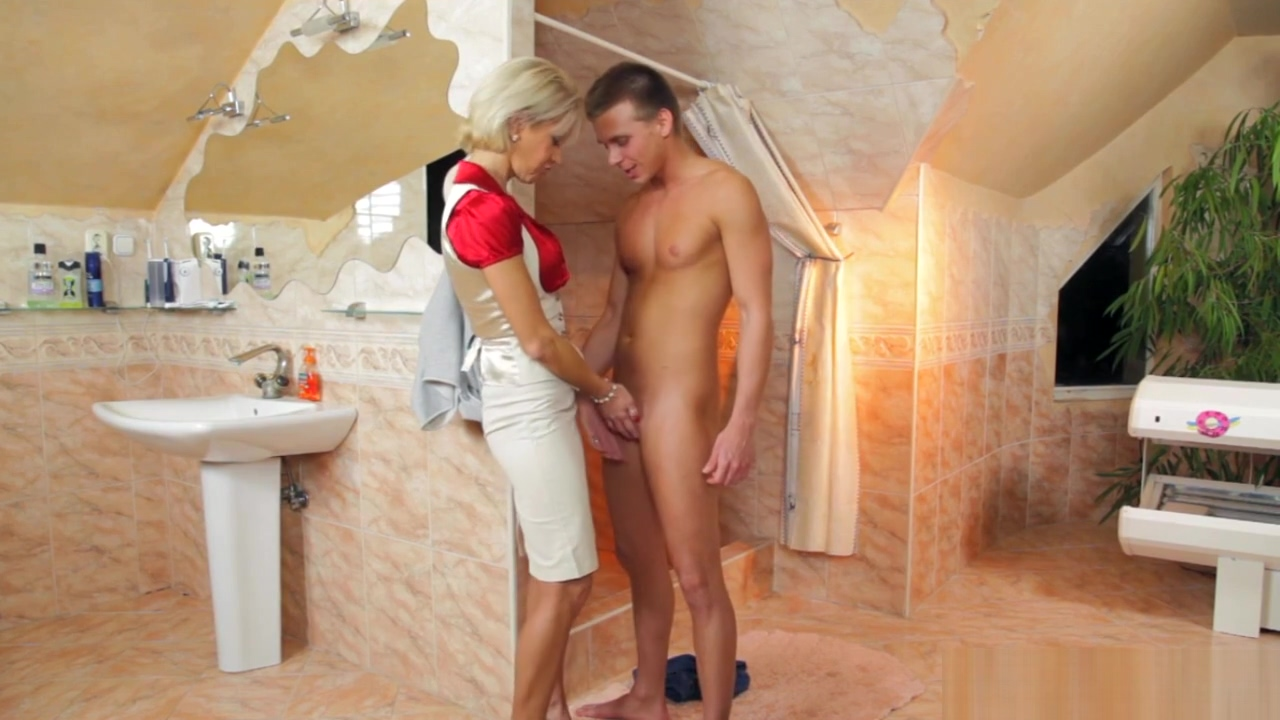 Sexy Blonde Cougar Loves Getting Banged Hard