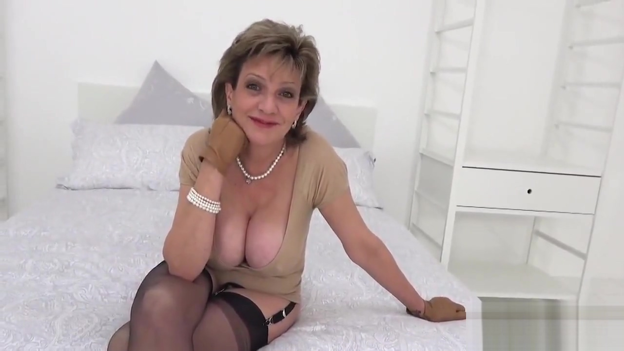 Unfaithful English Mature Slutty Sonia Showcases Her Enormous Hooters