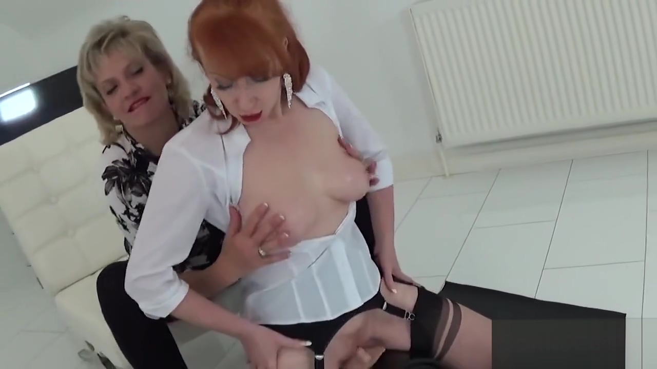 Adulterous English Milf Slutty Sonia Displays Her Massive Melons