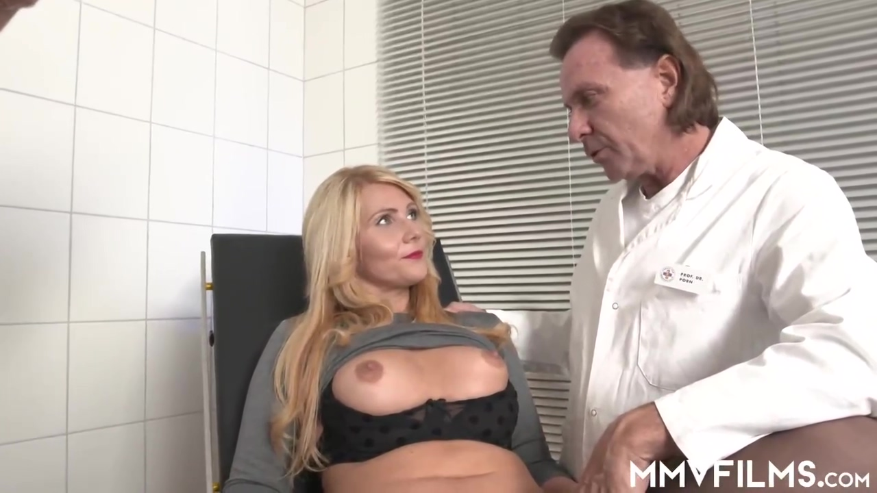 Tatjana Teen Is A Sensual Blonde Lady Who Likes To Have A Three Way In The Hospital