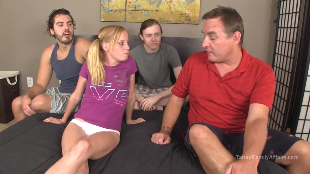 Pigtailed Blonde Teen Alyssa Hart Is Sucking Dicks And Riding Them Free Of Any Charge