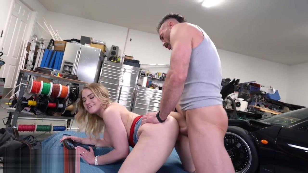 Trickery Dirty Mechanic Tricks Kenzie Madison Into Sex