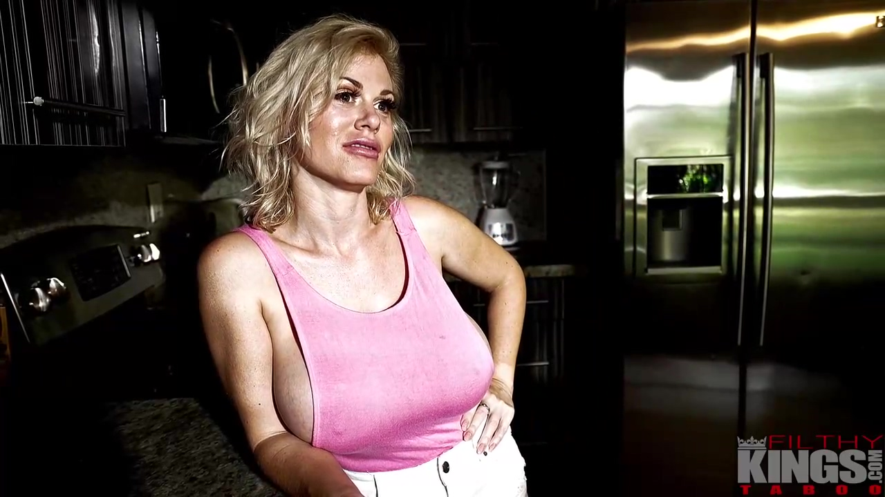 Casca Akashova Is A Great Titted Blonde Cougar Who Likes To Have Fuck From The Back