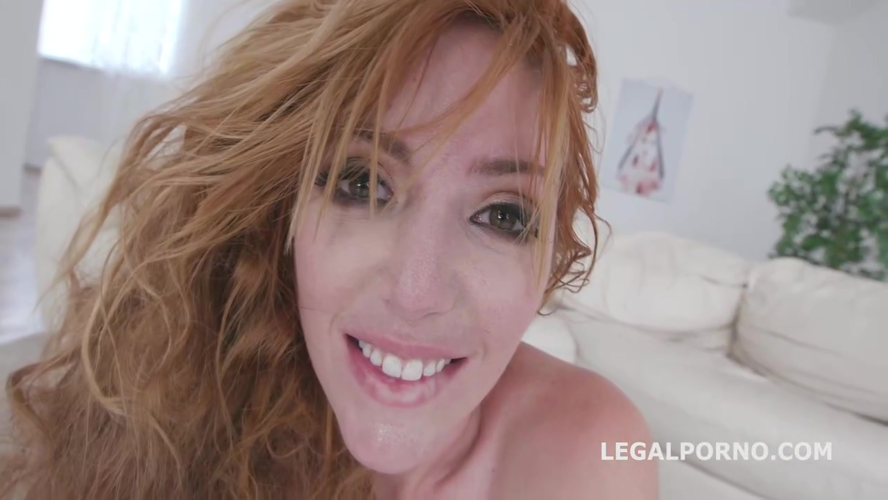 Amazing Red Haired Mature Lauren Phillips Got Assfucked Balls Deep During A Tripple Penetration