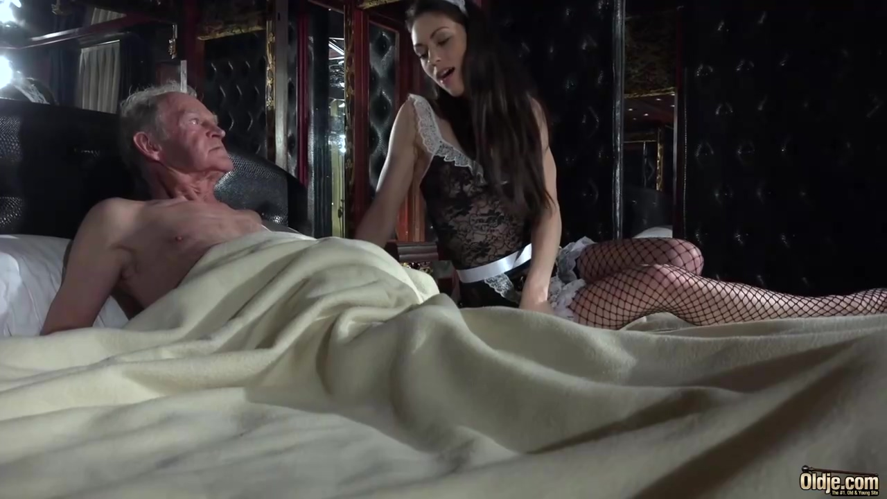 Old Dude Is Often Fucking His Hot French Servant While No 1 Else Is At Home