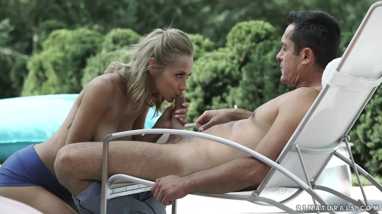 Veronica Leal Is Fucking The New Gardener In The Middle Of The Day On The Sun Bed