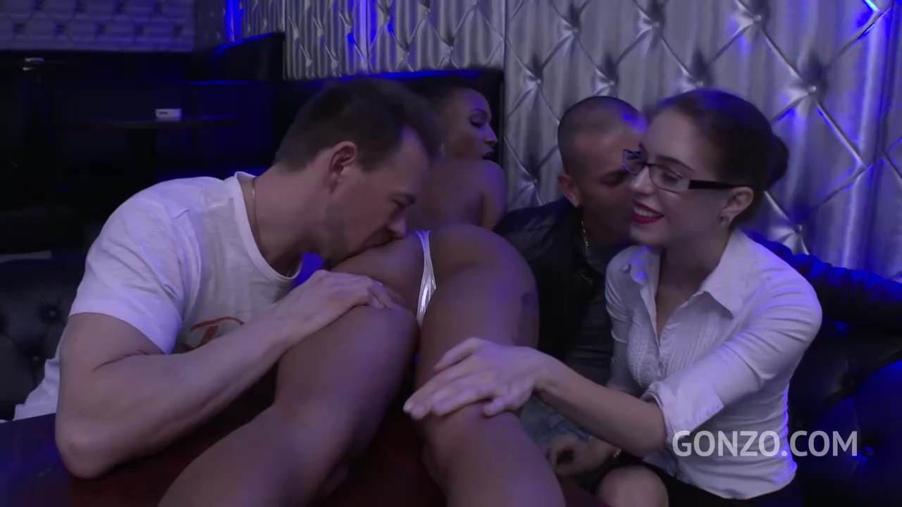 Anna De Ville And Nikki Darling Are Working In The Night Club And Often Fucking Their Clients
