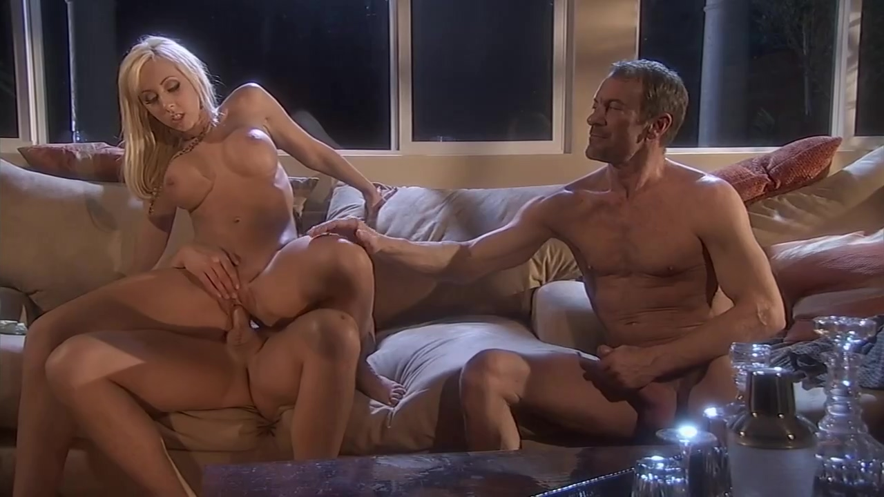Hot Blonde Is Fucking Her Lover While Her Guy Is Jerking Off And Watching Them