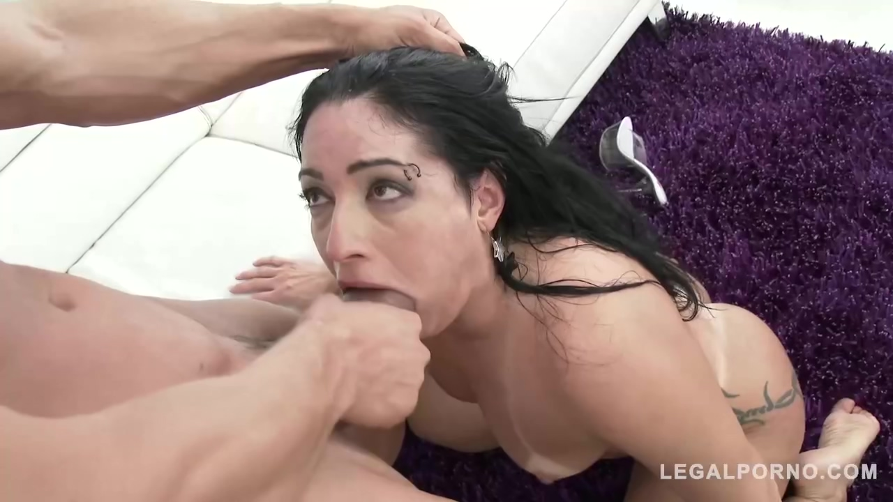 Latin Babe Monica Santiago Is Getting Fucked In The Ass By A Sex Party Of Sexy Guys