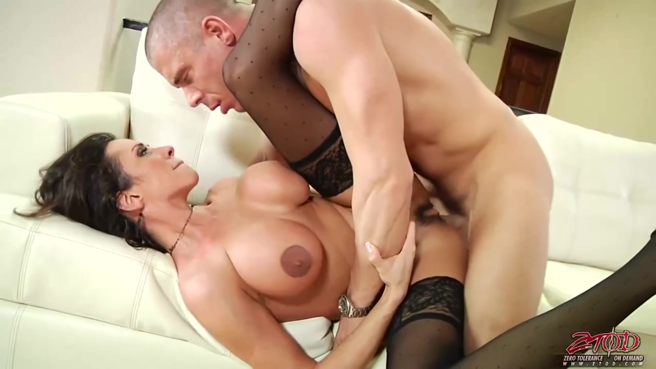 Big Tited Cougar In Black Stockings Ariella Ferrera Likes To Take Her Partners Hard Cock From Behind