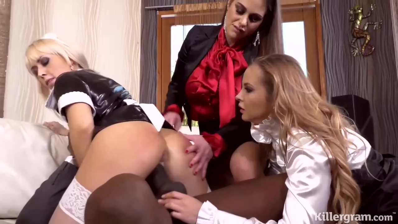 Cathy Heaven And Her Anal Fuck Loving Friends Are Doing It With A Handsome Black Guy